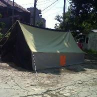Tenda Pramuka Regu kapasitas 10 siswa/8 dewasa bahan dakota