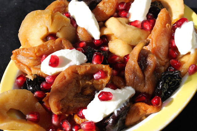 Dried fruit saladخشاف   Khoshaf