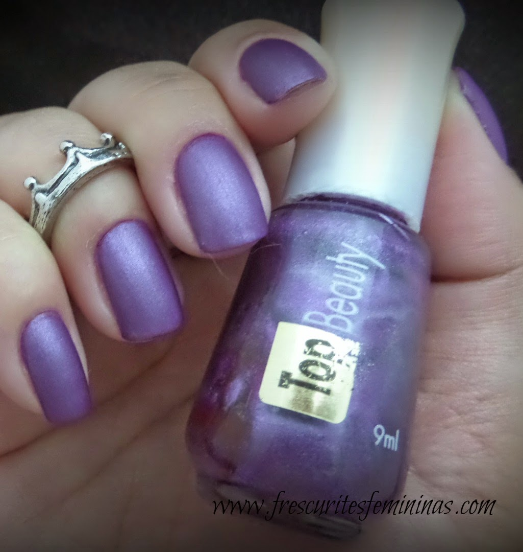 Top Beauty, agreste, essie, matte about you, frescurites femininas