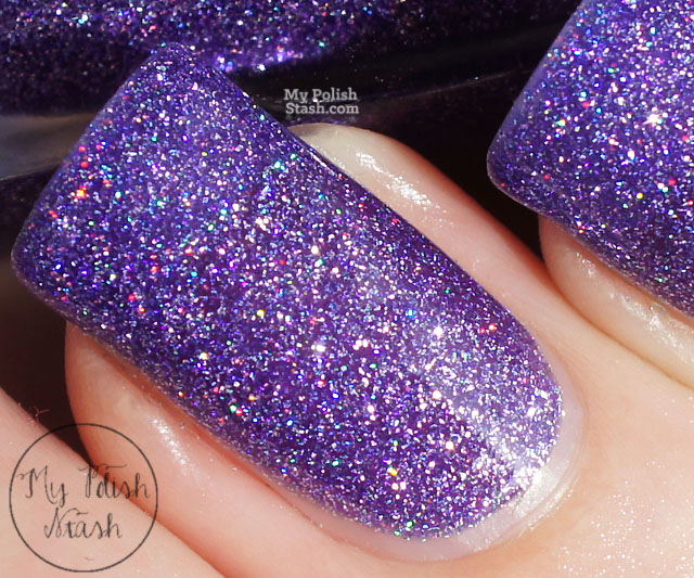colors by llarowe purple is my crack swatch