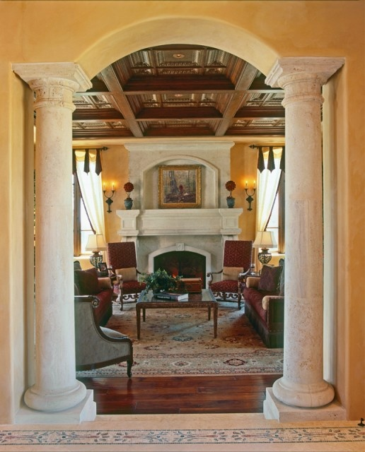 eye for design decorating with columns