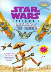 bookcover of Anakin's Pit Droid bookcover