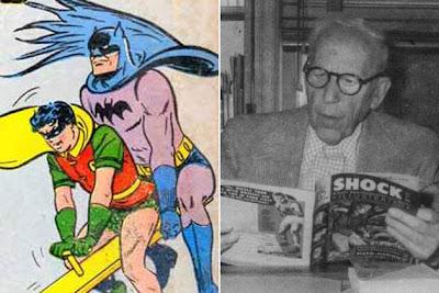 Бэтмен и Робин геи ?