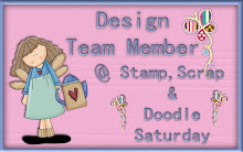 Past design team member for Stamp, scrap and doodle saturdays