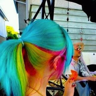 Modamania cabellos coloridos - Colores llamativos ...