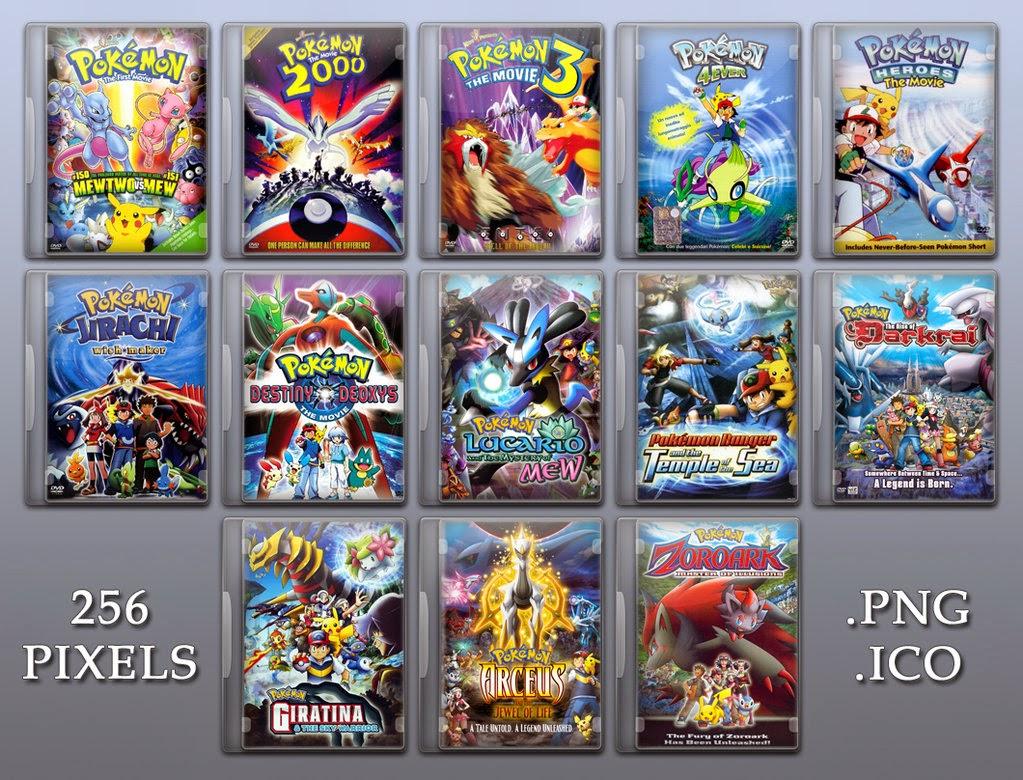pocket monsters pokemon the movie 1 11 dvdrip��������