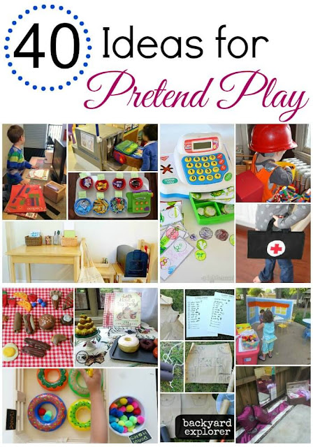Boredom Busters - Ideas for Pretend Play