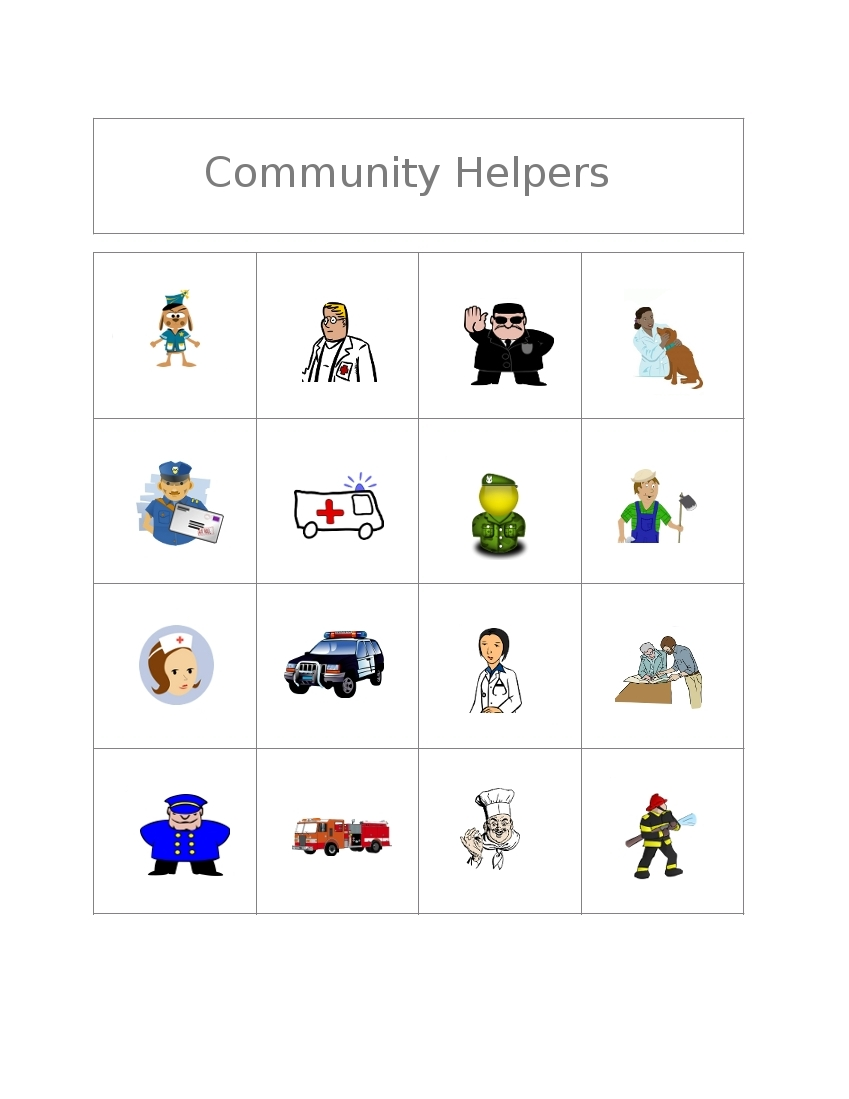 Free Bingo Game: Community