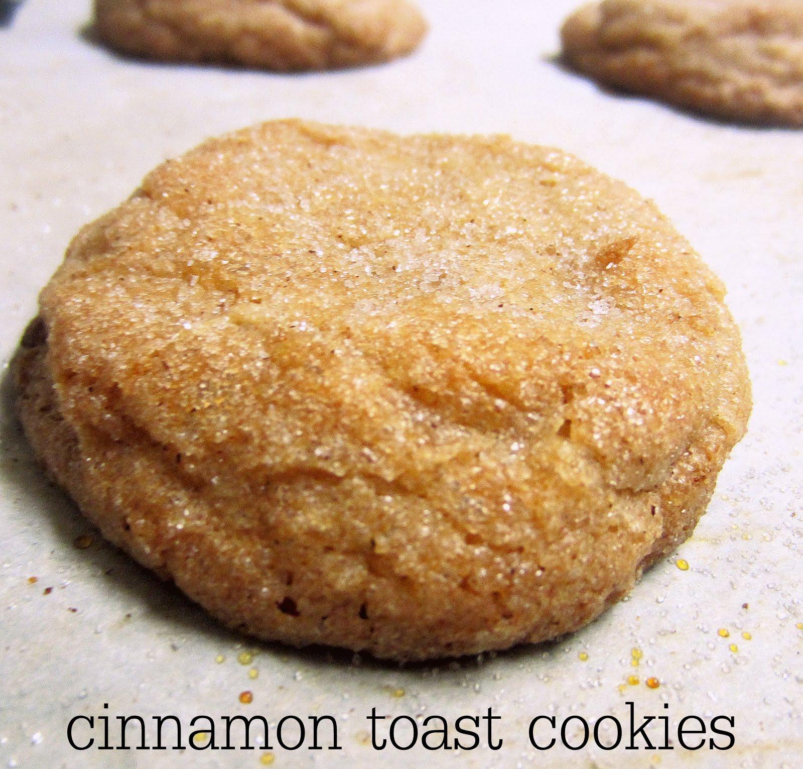 The Sweet Life: Cinnamon Toast Cookies