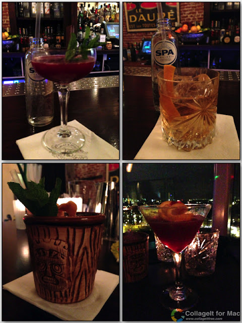 Stitch and Bear - Amsterdam - Selection of cocktails at Tales & Spirits