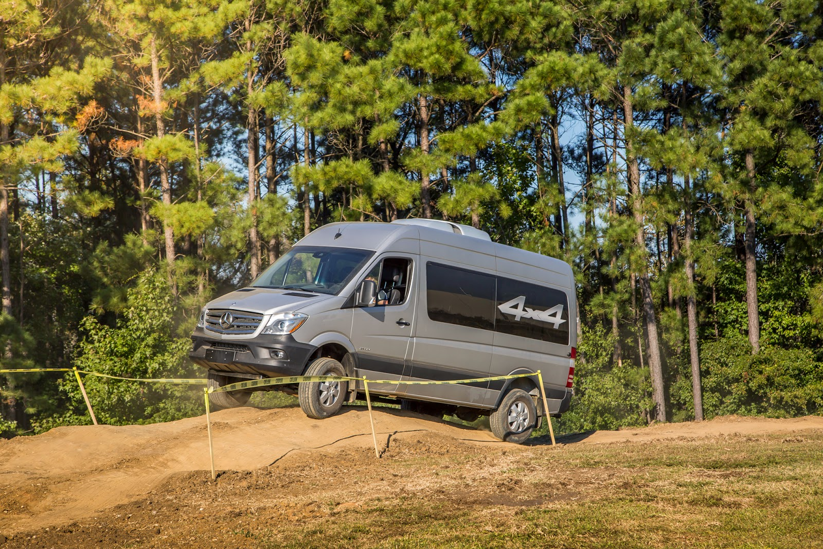 The 2015 MB Sprinter 4x4 On Factory Proving Grounds