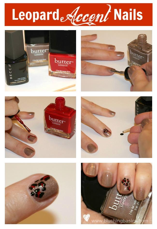 Nail Art Tutorial Leopard Accent Nails A Girls Gotta Spa