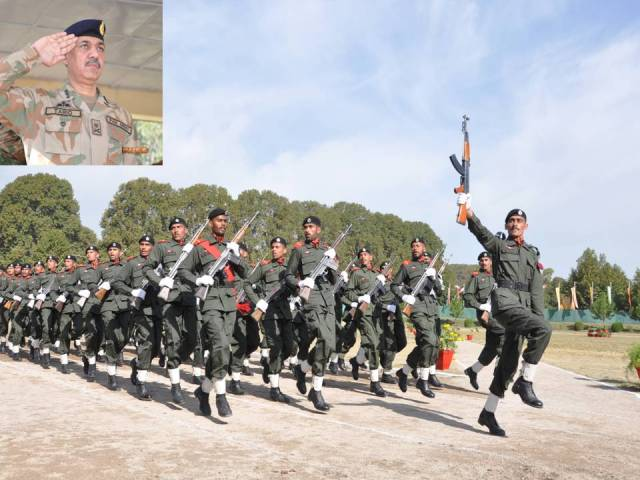 Passing Out Parade Of The Security Soldiers Of Strategic