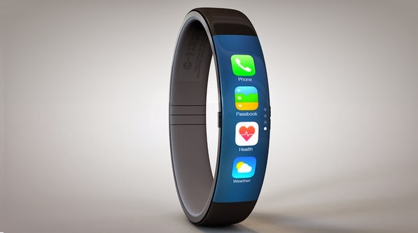 A new awesome concept of the Apple iWatch. It Iterates Nike Fuelband-style design. Check out these images..
