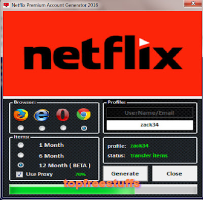 Netflix Premium Account Generator 2016
