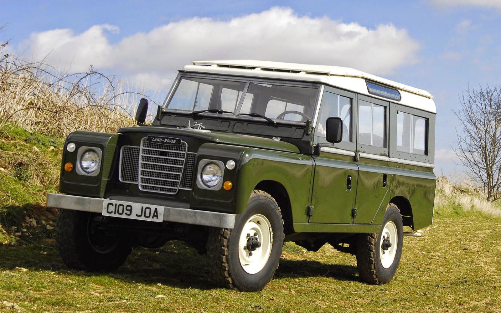Land-Rover Series III LWB 1971