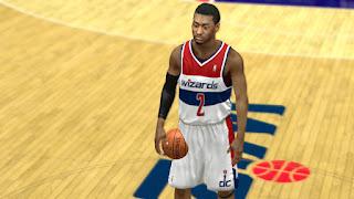 NBA 2K13 Washington Wizards Jersey Patch