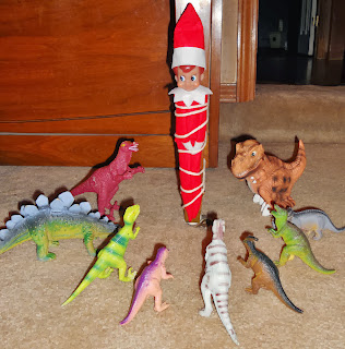 Elf on the Shelf Dinosaurs