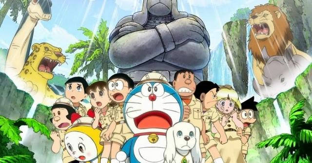 Hình ảnh phim Doraemon: Nobita Thám Hiểm Vùng Đất Mới
