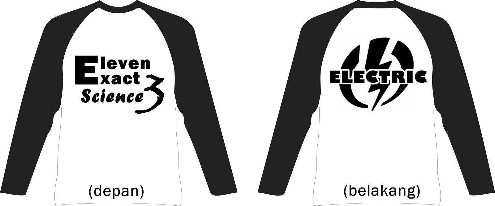 Contoh desain t shirt kelas - Desain Kaos Xi Ipa 3