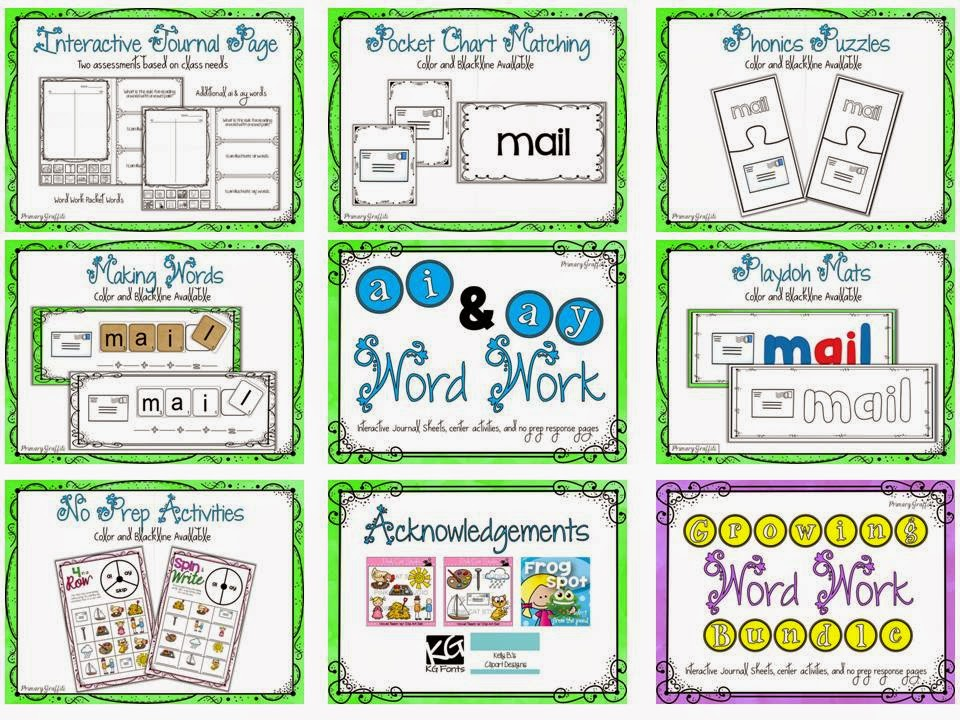 https://www.teacherspayteachers.com/Product/Phonics-Word-Work-ai-ay-1200811