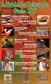 Actividades Culturales Otoño 2011