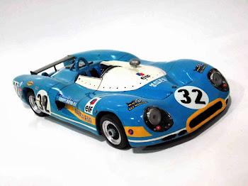 Matra Simca MS650 Le Mans '70 #32 F.Cevert & J. Brabham Handmade (hecho por mi)