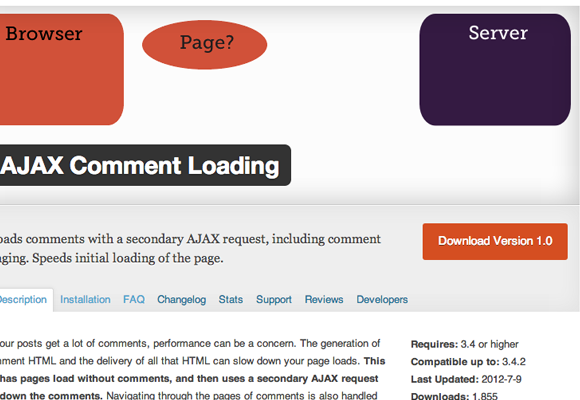 Setup Ajax Comments Pages in WordPress