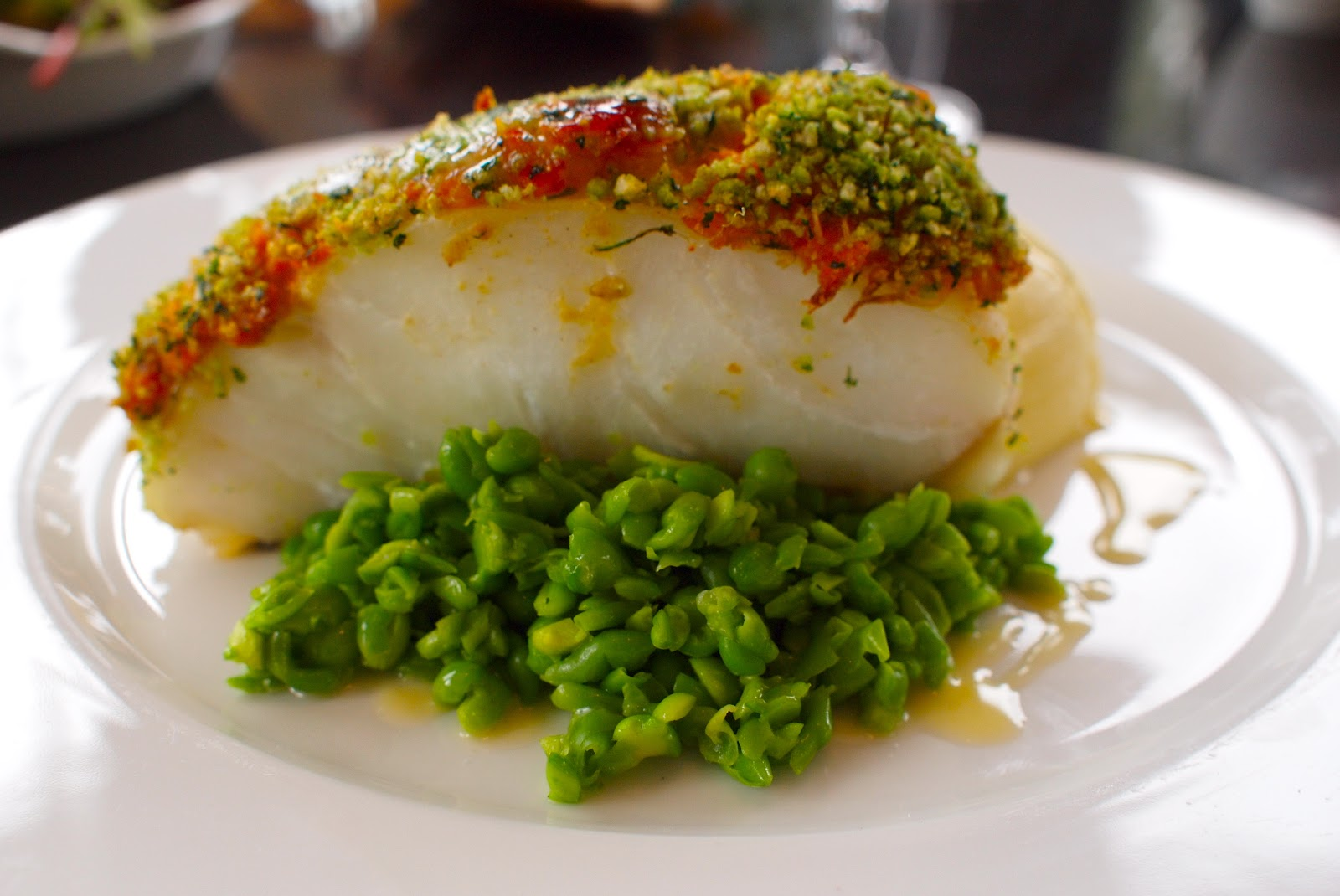 roasted cod crusted with herb crusted cod with ingredients oven baked ...
