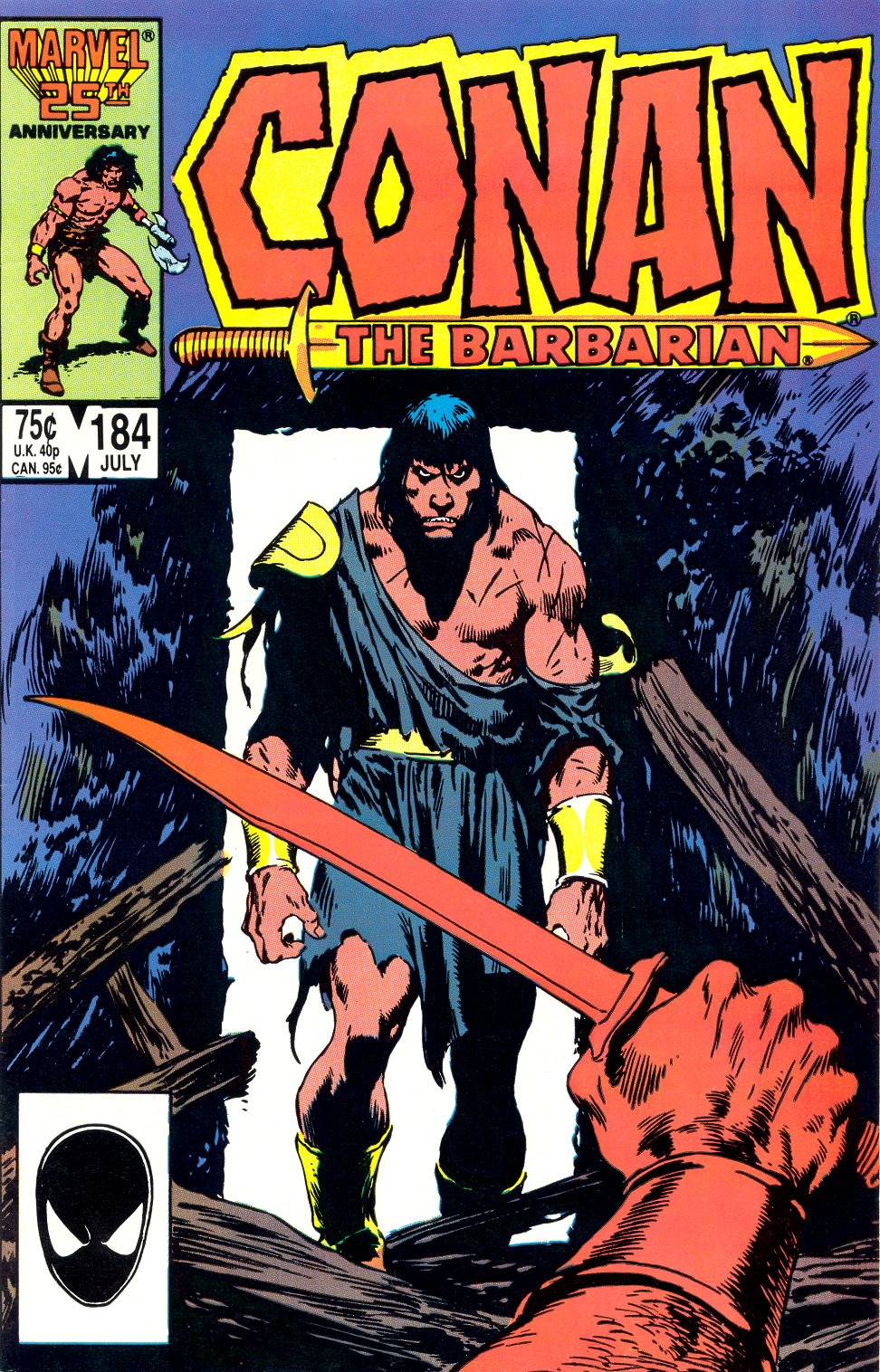 Conan the Barbarian (1970) Issue #184 #196 - English 1