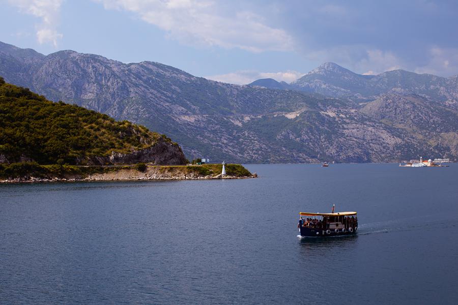Котор, Которский залив, Черногория, море
