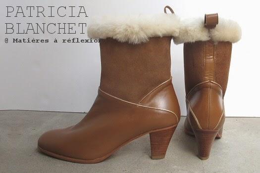 Boots Mémère Patricia Blanchet fourrées