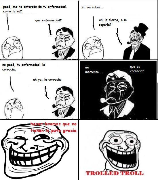 Trolldad - Trolled Troll (viñetas)