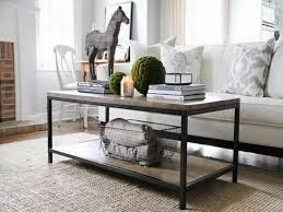 Coffee Table With Baskets Underneath The