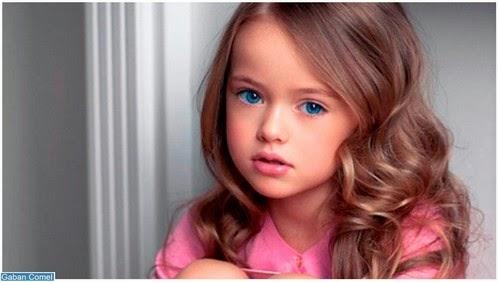 Kristina Pimenova Model Kanak kanak Paling Cantik di Dunia