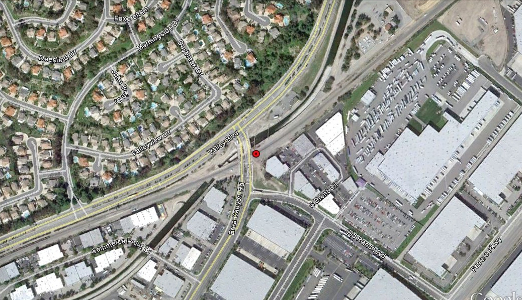 loomis finds abandoned phelps garage truck valley blvd and brea canyon rd walnut ca 91789