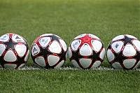 Фото Укринформ: футбольные мячи