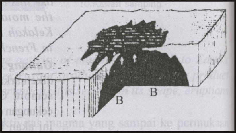 Pengertian Erupsi Areal