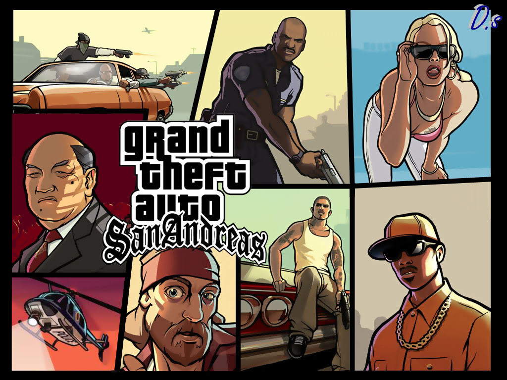 Grand theft auto san andreas 2017 pc mods ps2