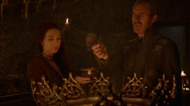 Stannis davos melisandre sanguijuelas - Juego de Tronos en los siete reinos
