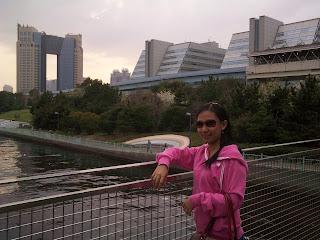Tokyo Japan Odaiba pier