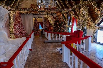 Casa do Papai Noel em São José dos Pinhais