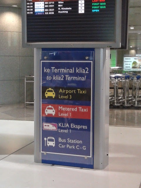 How to go from KLIA to KLIA2