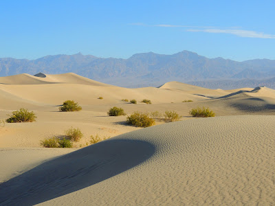 Sand Dunes in Death Valley California