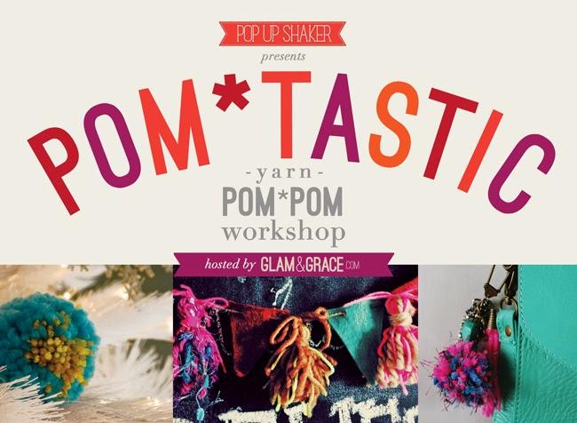 Pom Pom Workshop - Pop Up Shaker - Cleveland crafts