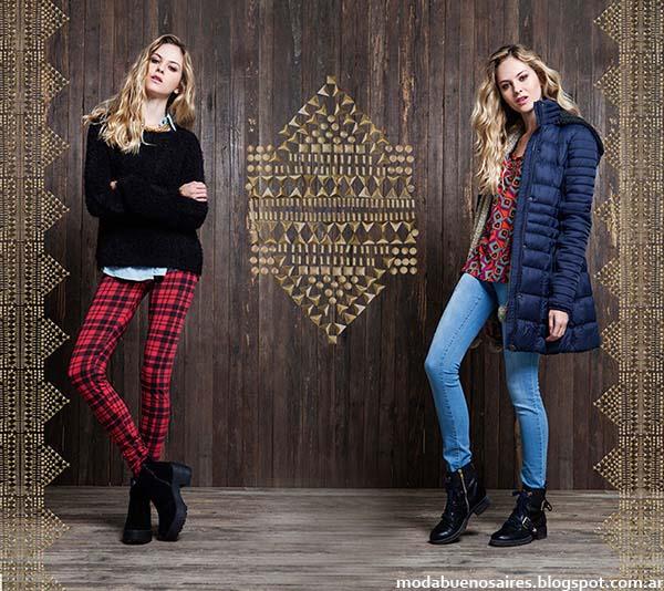 Camperas de moda urbana otoño invierno 2014 Rimmel.