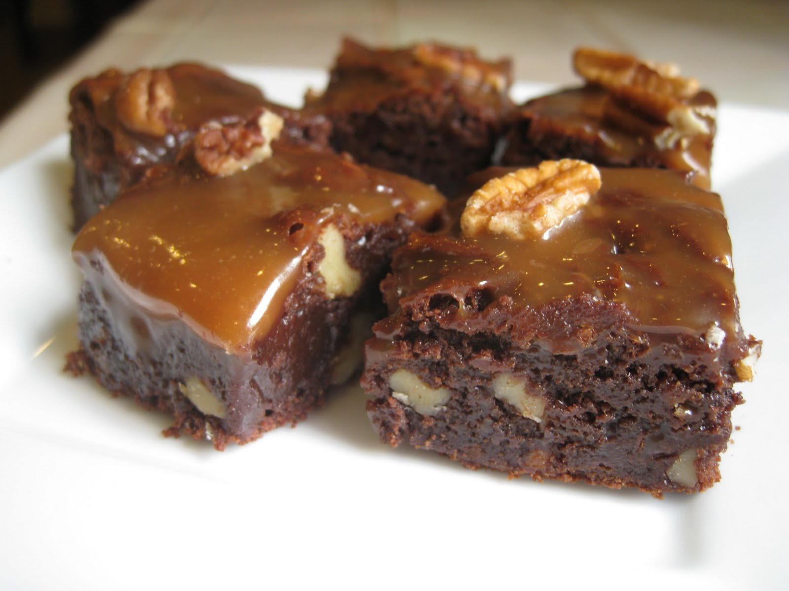 Turtle Brownies Recipes — Dishmaps