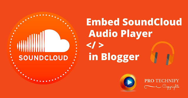 Embed souncloud in blogger