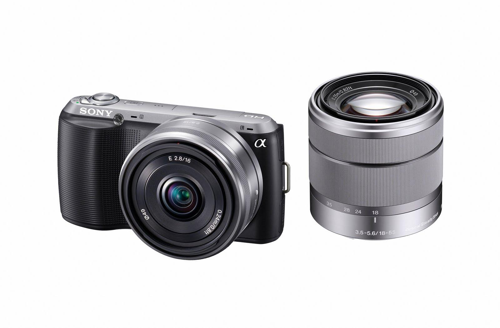 Sony Alpha NEX Cameras and E Mount Lenses: NEX-C3