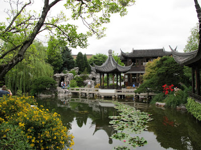 Culinary types tea in a chinese garden the tower of for Typical japanese garden plants